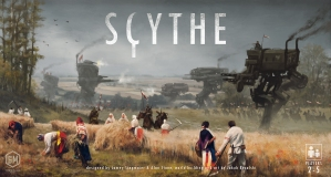 Scythe plays in roughly 2 hours, and accommodates 2-5 players.